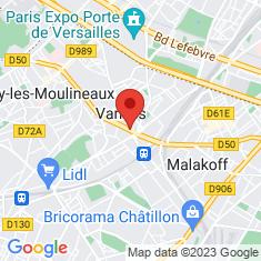 Carte / Plan Vanves