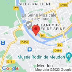 Carte / Plan Île Seguin