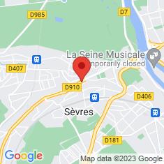 Carte / Plan Sèvres