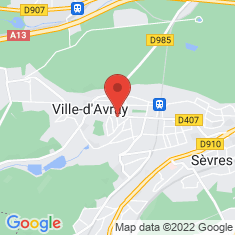 Carte / Plan Ville-d'Avray