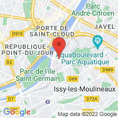Carte / Plan Gare d'Issy-Val de Seine