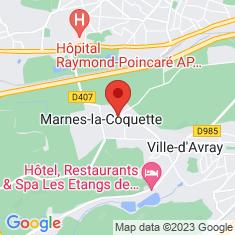 Carte / Plan Marnes-la-Coquette