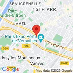 Carte / Plan Porte de Versailles (métro de Paris)