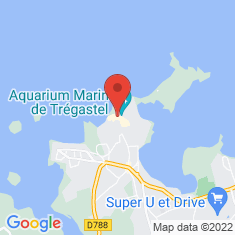 Carte / Plan Aquarium marin de Trégastel