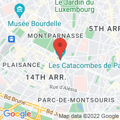 Carte / Plan Catacombes de Paris