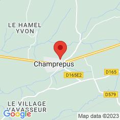 Carte / Plan Champrepus