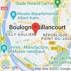 Carte / Plan Boulogne-Billancourt