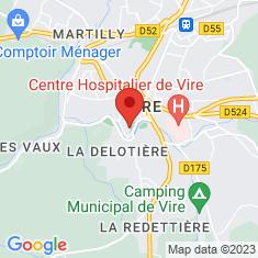 Carte / Plan Donjon de Vire