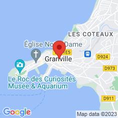 Carte / Plan Granville