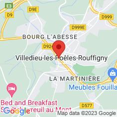 Carte / Plan Église Notre-Dame de Villedieu-les-Poêles