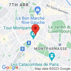 Carte / Plan Montparnasse - Bienvenüe (métro de Paris)