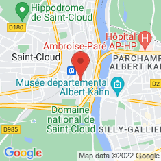 Carte / Plan Saint-Cloud