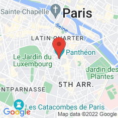 Carte / Plan Panthéon (Paris)