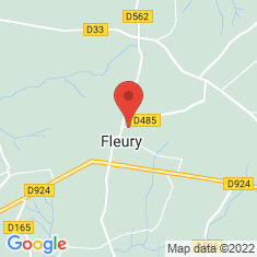 Carte / Plan Fleury (Manche)