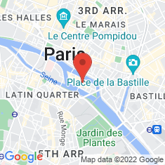 Carte / Plan Île Saint-Louis