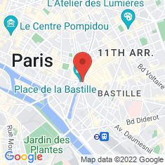 Carte / Plan Place de la Bastille