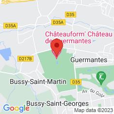 Carte / Plan Château de Guermantes