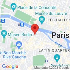 Carte / Plan École nationale supérieure des beaux-arts