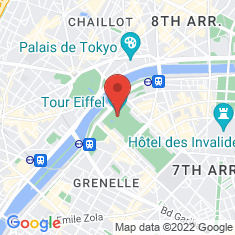 Carte / Plan Tour Eiffel
