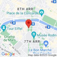 Carte / Plan Hôtel des Invalides
