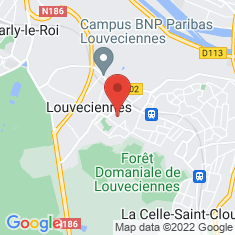 Carte / Plan Louveciennes