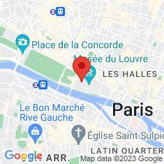 Carte / Plan Musée du Louvre