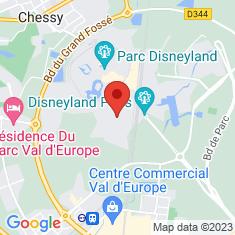 Carte / Plan Parc Walt Disney Studios