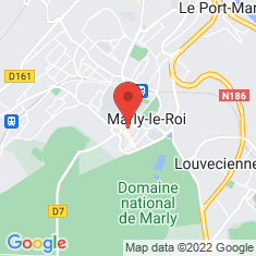 Carte / Plan Marly-le-Roi
