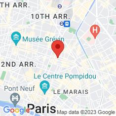 Carte / Plan Théâtre de la Porte-Saint-Martin
