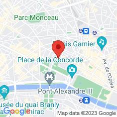 Carte / Plan Palais de l'Élysée