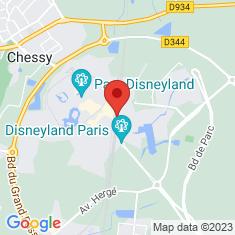 Carte / Plan Gare de Marne-la-Vallée - Chessy