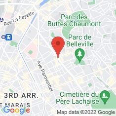 Carte / Plan Belleville (métro de Paris)