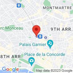 Carte / Plan Gare de Paris-Saint-Lazare