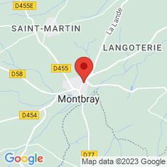 Carte / Plan Montbray