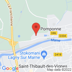Carte / Plan Château de Pomponne