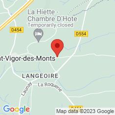 Carte / Plan Saint-Vigor-des-Monts