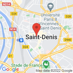 Carte / Plan Saint-Denis (Seine-Saint-Denis)