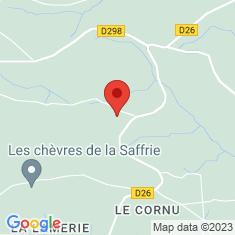 Carte / Plan Menhirs de la Plumaudière