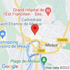 Carte / Plan Cathédrale Saint-Étienne de Meaux