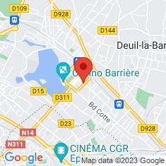 Carte / Plan Enghien-les-Bains