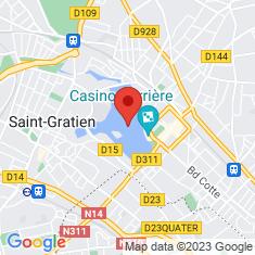 Carte / Plan Lac d'Enghien