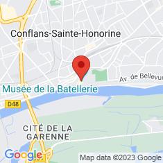 Carte / Plan Musée de la batellerie (Conflans-Sainte-Honorine)