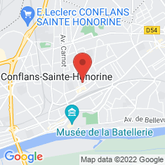 Carte / Plan Conflans-Sainte-Honorine