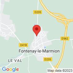 Carte / Plan Tumulus de la Hoguette