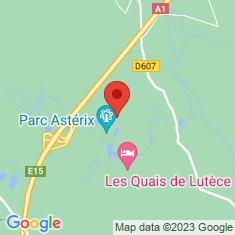 Carte / Plan Parc Astérix