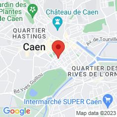 Carte / Plan Théâtre de Caen
