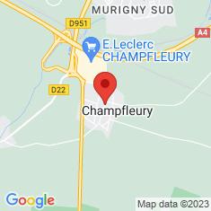 Carte / Plan Champfleury (Marne)