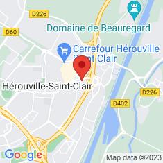 Carte / Plan Hérouville-Saint-Clair