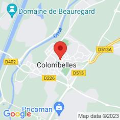 Carte / Plan Colombelles