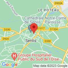 Carte / Plan Musée d'art et d'archéologie de Senlis